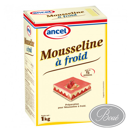 PREPARATION MOUSSELINE A FROID ANCEL 1KG