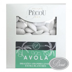 DRAGEE AVOLA EXTRA  BLANCHE/BTE 1KG