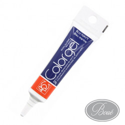 COLORANT GEL BLU NAVY   /TUBE 20 GRS MG